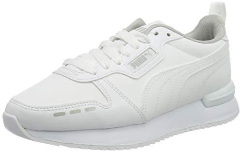 PUMA R78 SL, Zapatillas Unisex Adulto, Blanco White White, 37 EU