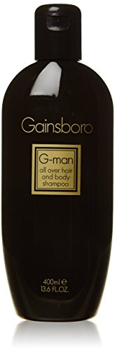 Gainsboro G-Man homme/men, All over Hair and Body Shampoo, 1er Pack (1 x 400 ml)