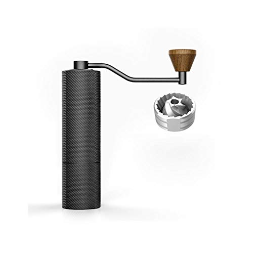 Slim best coffee grinder with adjustable setting conical burr manual grinders mill grinders for handdrip espresso
