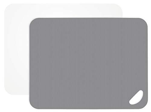 Lurch 10940Flexi de Tablas para Cortar (2Unidades, plástico, Flint Gris/Blanco, 29x 38x 4cm