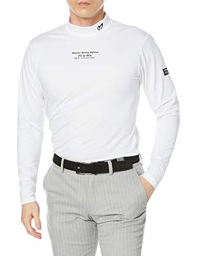 [マスターバニー] [メンズ] 長袖 ハイネックシャツ (ポップコーン・ベーシック) / ゴルフ インナー / 758-1166203 030_ホワイト 6 [XL]