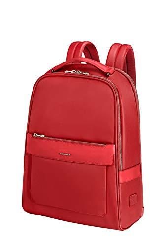 Samsonite Zalia 2.0 - 14 Pollici Zaino Porta PC, 39 cm, 13 L, Rosso (Classic Red)
