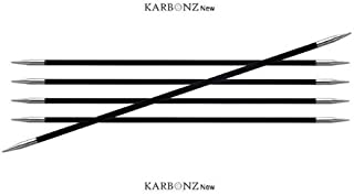 Knitter-s Pride Karbonz Double Pointed Needles, 000 US, 6 in