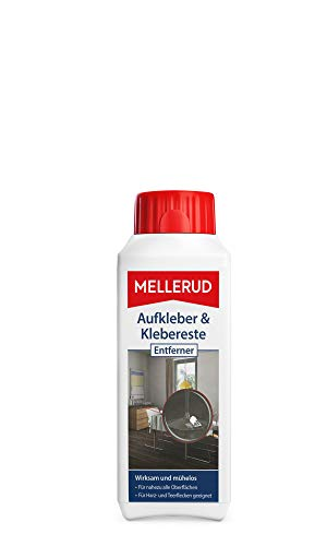 Mellerud 2001001766 Stickers en lijmresten remover 250 ml Single 1 - Pack multicolor