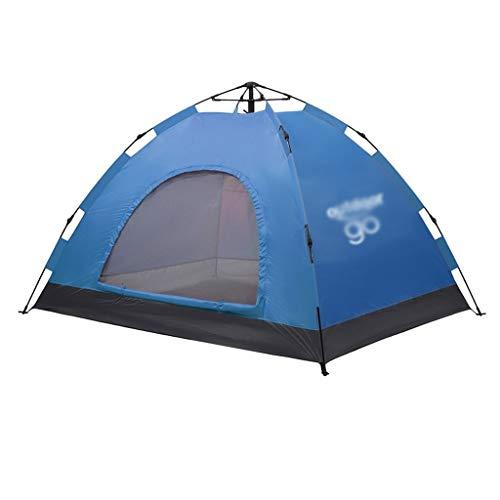Utilisation multiple Sports de plein air Tente Camping Épaississement extérieur automatique Crème solaire anti-pluie Intérieur Tente pliante coupe-vent respirant Équipement d'extérieur ( Color : A )