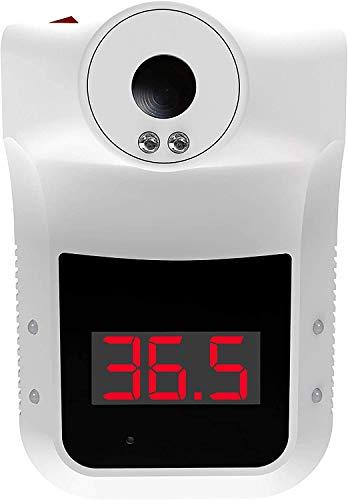 ACE Infrarot-Thermometer - Kontaktloses Fieberthermometer zur Eingangskontrolle - Deutsche Version (C°) mit 5 Jahren Sensorgarantie - Weiß