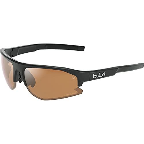 bollé BS003009 Bolt 2.0 Sport Bike Sunglasses, Black Matte - Phantom Brown Gun
