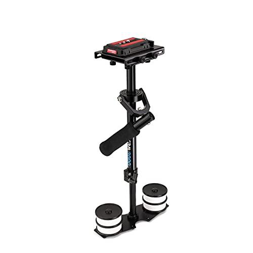 """Flycam 23""""/58 centimetri alluminio DSLR palmare Steadycam stabilizzatore per il video videocamere fino a 3.5 kg + piastra a sgancio rapido + borsa (FLCM-3000-Q)"""