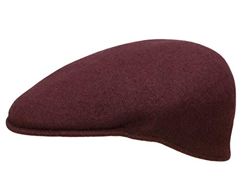 Kangol Homme Casquette plate Wool 504 rouge XL/60-61