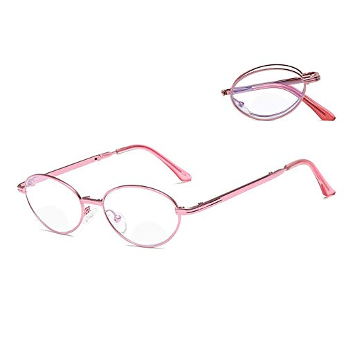 COSCANA Gafas de Lectura Gafas de Bloqueo de luz Azul con bisagra de Resorte, Lectores para Mujeres Hombres Filtro antideslumbrante Lentes Ligeros