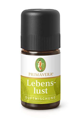 PRIMAVERA Duftmischung Lebenslust 5 ml - Grapefruit, Spearmint und Limette - Aromaöl, Duftöl, ätherisches Öl Aromatherapie - aufmunternd - vegan