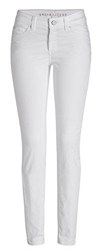 MAC Damen Jeans Dream Skinny 5402 White Denim D010 (32/30)