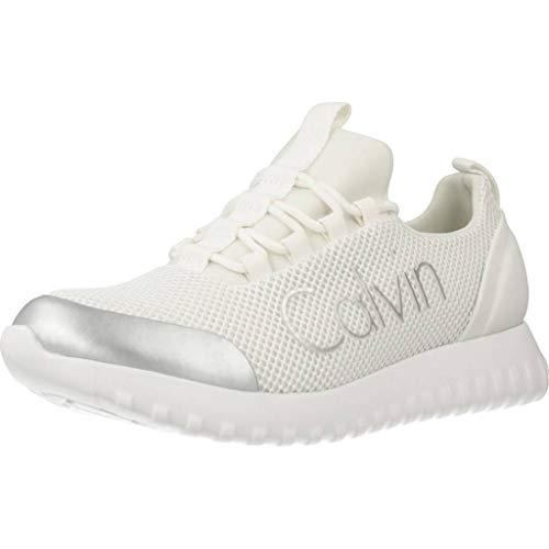Calvin Klein Reika Noir White Silver R0666WHITESILVER, Deportivas - 37 EU