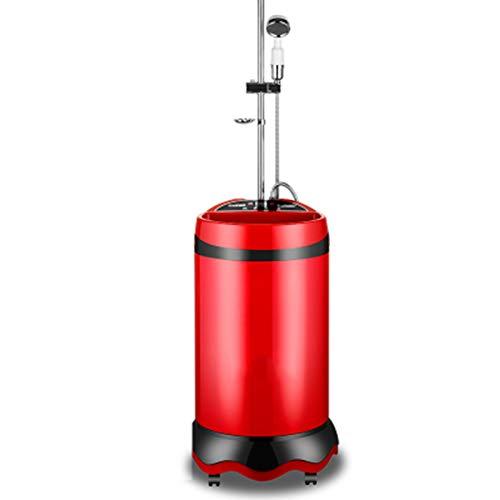 Middle Ducha portátil: Ducha termostática móvil con Almacenamiento de Agua, Ducha para el hogar, 60L -70L / 220V / 2000W,Diseño de Control Remoto,Seguro e Impermeable