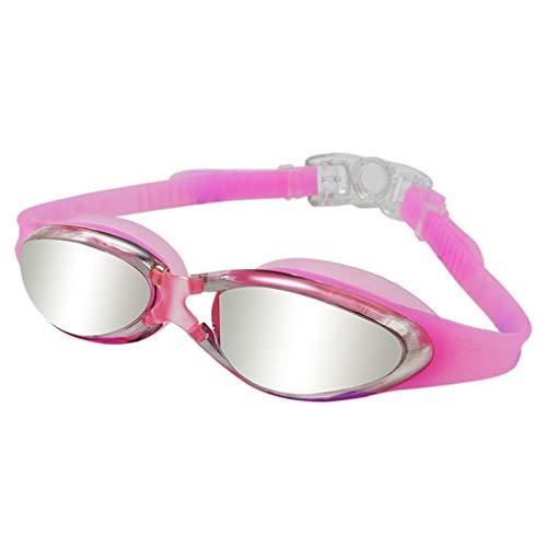 Yzlife Zwembril, verzilverd, anti-condens, UV-bescherming, gecoate lens, heren, zwembril voor vrouwen, duikbril, meerdere kleuren