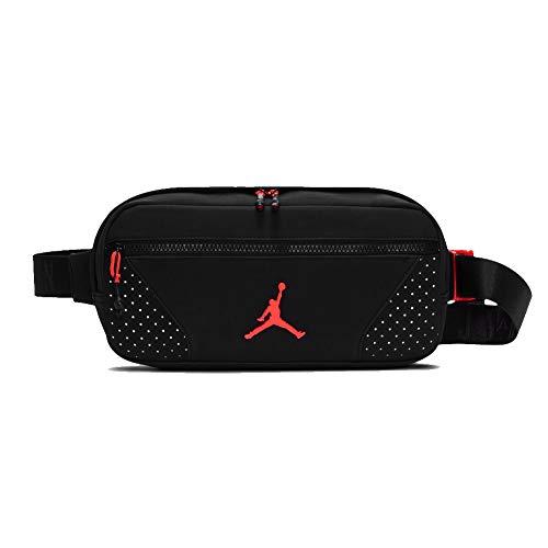 Jordan Crossbody Bag Black/Infra Red