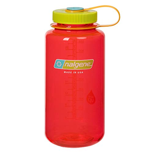 Nalgene Uni Klassiker Wh Trinkflasche, Pomegranate, 1 Liter