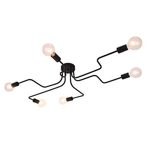 Lingkai Lampada da Soffitto Metallo Luce Pendente Lampadari Moderni E26/E27 per Sala da Pranzo,...