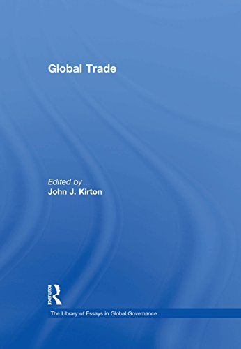 Global Trade (The Library of Essays in Global Governance) (English Edition)
