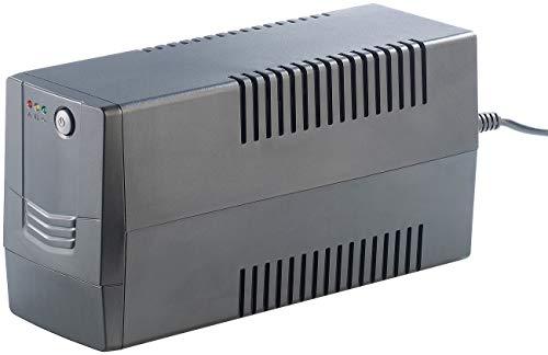 reVolt Ups: USV/Unterbrechungsfreie Stromversorgung mit AVR, 600 VA / 360 Watt (Notstromversorgung)