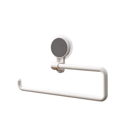 Randymank Papierrollenhalter Küchenrollenhalter ohne Bohren Wand Rollenhalter für Papierrollen WC Badzimmer Küchenpapierhalter Wandmontage