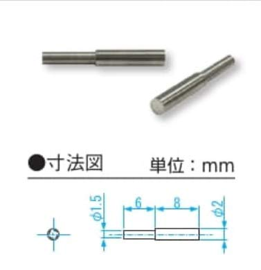 新潟精機 SK ベンチテーブル用ピン測定子 BT-CA20