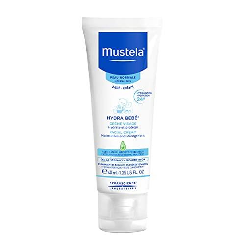 Mustela Hydra Bebe Facial Cream from Birth On, 40 ml