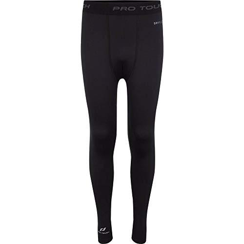 Pro Touch Pantalon Khasi JRS Mixte Enfant, Black, FR : XXS (Taille Fabricant : 152)