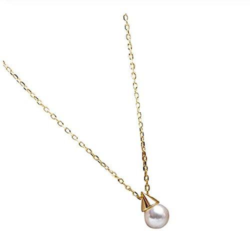 niuziyanfa Co.,ltd Necklace Pearl Pendant Necklace Suitable for Women