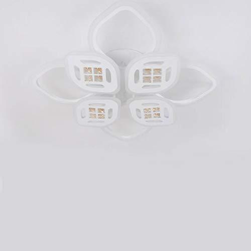 85-265 V Lámpara de techo de acrílico, moderna, lámpara LED de techo para salón, regulable, lámpara de techo
