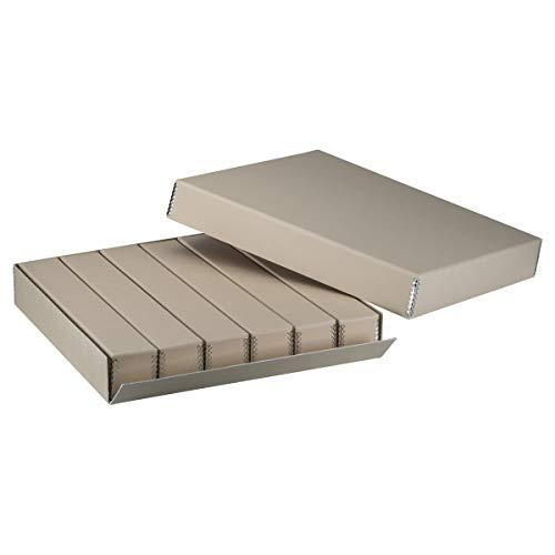 Adorama 35mm Master Slide Storage Box with Divider Boxes, Holds 2160 Slides