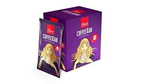 Franck COFFEE&GO Jubilarna SENSUAL kava mljevena - Kaffee gemahlen 90g (10x9g)