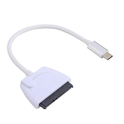 Usb dac Adapter USB-C/Type-C To 22 Pin SATA Hard Drive Adapter Cable Converter, Total Length: about 23cm usb cables
