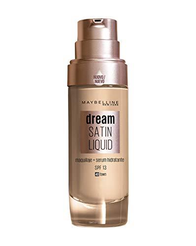 Maybelline New York Dream Radiant Liquid - Base de Maquillaje Líquida con Sérum Hidratante, Tono 040 Fawn