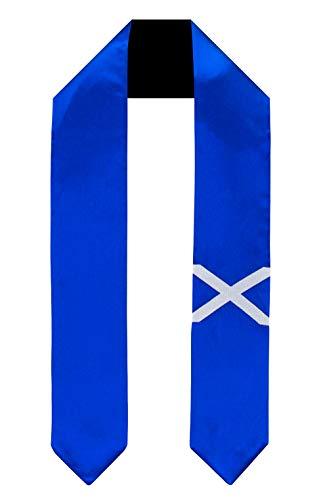 Scotland St Andrews Cross Flag Graduation Sash/Stole International Study Abroad
