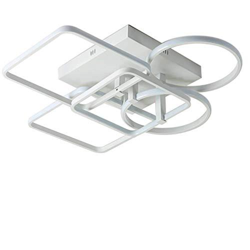 Moderne led-plafondlamp geometrie creatieve slaapkamerlamp hedendaagse binnenverlichting plafondlamp puzzel design woonkamerverlichting acryl lampenkap gewoon Noord-Europa stijl kinderlamp