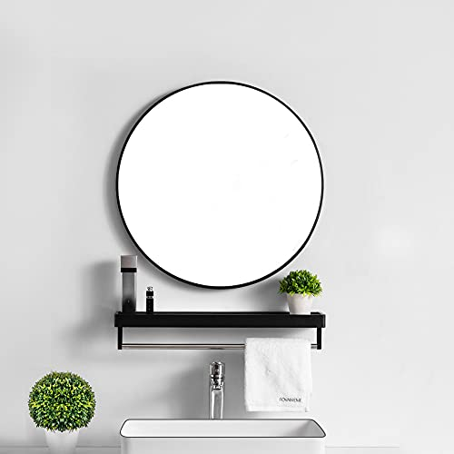 ikea spiegel rond zwart