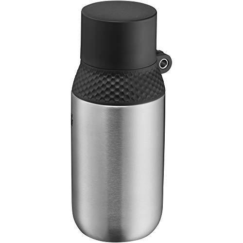 WMF Waterkant Iso2Go Trinkflasche Edelstahl 350ml, Thermosflasche, Isolierflasche, Kohlensäure geeignet, AutoClose-Verschluss, auslaufsicher, BPA-frei