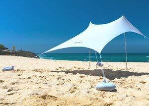 OZoola Beach Sunshade Tent with Sandbags UPF 50+