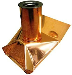 Roof Vent Pipe Boot - Copper - Steep Pitch - 2 Inch
