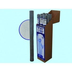Fliegengitter aluminium amerikanischen Stop Inset 18x 14miniroll–Höhe 100cm. MT 3pz-1