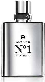 N°1 Platinum by Aigner for Men Eau de Toilette 100ml
