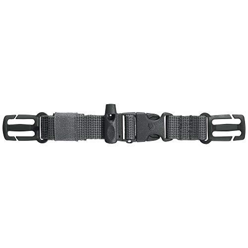 Fjällräven Unisex-Adult Kånken Chest Strap Sports Backpack, Super Grey, One Size