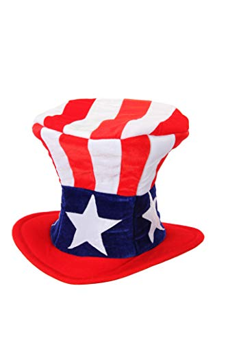 Uncle Sam 4th of July USA Patriotic Costume Hat