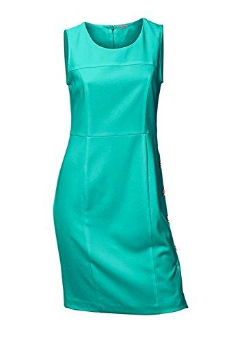 Ashley Brooke Designer-Etuikleid smaragd Größe 38