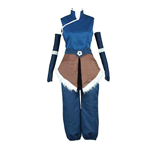 Permank Avatar Disfraz de Cosplay de Halloween Sokka/Zuko/Korra Disfraz de Cosplay Fiesta de Disfraces para Hombres Womem