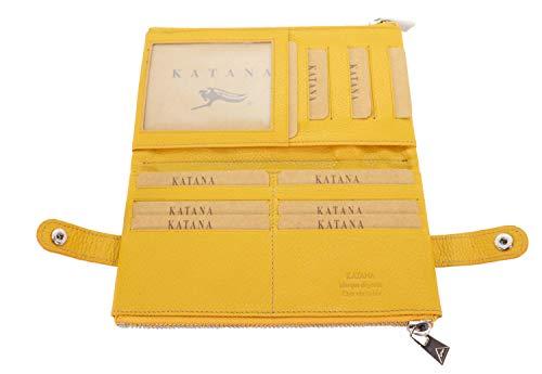 Katana Katana Scheckbuchhülle, gelb (Gelb) - 953118