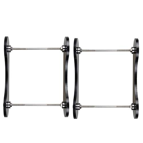 2 Pieces 3D Printer Filament Tabletop Mount Rack, Consumables Frame Silk Tray Wire Rack, 3D Printer ABS/PLA Frame Wire Frame Holder