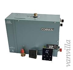 vanvilla COASTS Générateur de vapeur, générateur de vapeur, douche à vapeur, 6KW / 380V incl. contrôle étanche à la vapeur