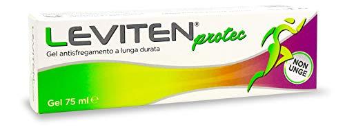 LEVITEN PROTEC Gel antisfregamento per sportivi, a lunga durata che non unge - tubo 75 ml